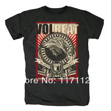 Free shipping  AUTHENTIC VOLBEAT LOGO tshirt A WARRIOR'S CALL METAL MUSIC T SHIRT