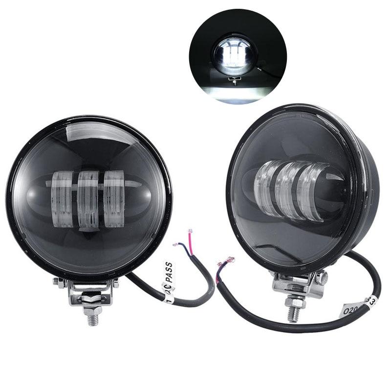 4 CREE Chips Car LED Fog Lights With Mounting Setup 36W 6500K 12V/24V For Jeep Wrangler Dodge Magnum Chrysler Dodge Journey<br><br>Aliexpress