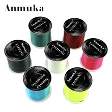Anmuka 1pcs 500m Extreme Strong Nylon Fishing Line Monofilament CarpFreshwater Fish Lines(China)