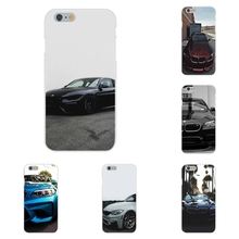 Soft TPU Silicon Case Accessories bmw m series For Apple iPhone 4 4S 5 5C SE 6 6S 7 7S Plus 4.7 5.5