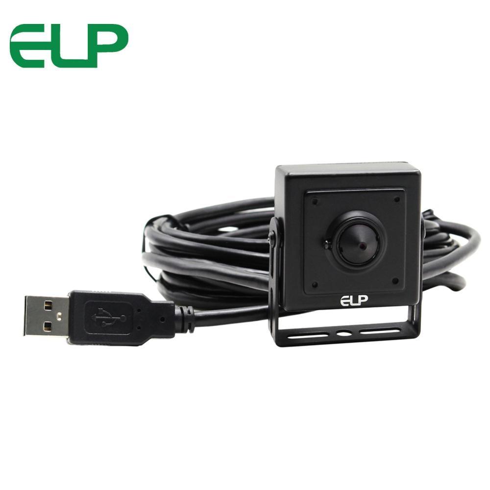 Security VGA 640 x 480 BOX cmos plug and play free driver mini usb camera OV7725 ELP-USB30W02M-PL37<br>