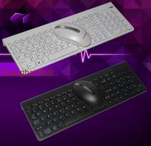 Lenovo 2.4Ghz Wireless Combo SK8861 Russian Spanish German French Turkish UK Thai Chocolate Keyboard Mice 1000DPI Mouse SM8861