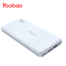 Yoobao Q12 Quick Charge 12000mAh Portable External Battery 5V/9V/12V USB Dual Mobile Powerbank for iPhone Samsung Xiaomi LG(China)