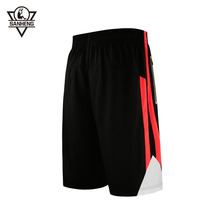 Brand SANHENG Men Basketball Shorts Quick-drying Short Basketball US Style Street Knitted Sport Shorts Pantaloncini Basket 317(China)