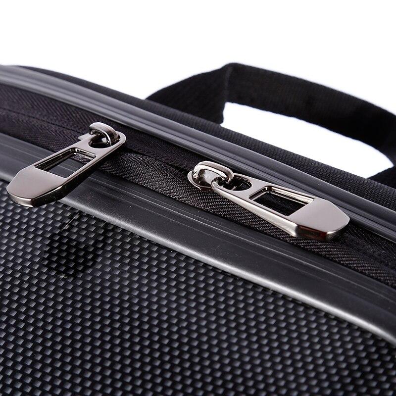 New Large Capacity Bag Protective Carbon Fiber Hard Shell Carrying Case for DJI Phantom 3/4 For OCDAY Travel Kits