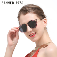 BANNED polarized Sunglasses for women fashion vintage cool driving feminin sun Glasses vintage with original brand box hot sell(China)