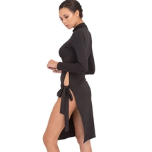 YJSFG HOUSE Casual Long Sleeve Slim Midi Party Dresses 2017 Spring Summer Sexy Bandage Bodycon Split Dress Ladies Vestidos Black