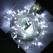 10pcs 10M/100LED String Lights 220V Outdoor Lighting Decoration Holiday Christmas Party LED Twinkle Light Wholesale