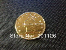 1849 LIBERTY HEAD (NO MOTTO ON REVERSE) $20 Gold one Dollar Copy Free Shipping Exact Coin