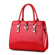 New Light Leather Women Messenger Bag Crocodile High-Grade Shoulder Bags Of Western Style Atmosphere Women Bag