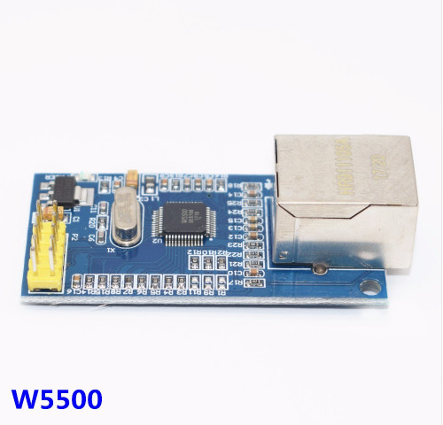 10pcs W5500 Ethernet network module hardware TCP / IP 51 / STM32 microcontroller program over W5100 1