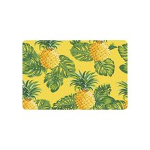 Buy Warm Tour Pineapples Tropical Leaves Anti-slip Door Mat Home Decor Yellow Indoor Outdoor Entrance Doormat Rubber Backing for $13.56 in AliExpress store