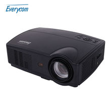 Everycom X9 LED HD Projector 3500 Lumens Beamer 1280*800 LCD Projector TV Full HD Video Home Theater Multimedia HDMI/VGA/ AV/ATV