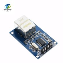 5 pcs/lot ENC28J60 LAN Ethernet Network Board Module 25MHZ Crystal AVR 51 LPC STM32 3.3V