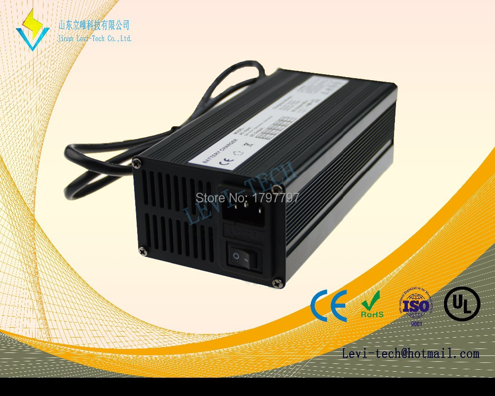 Intelligent LiFePO4 Battery Pack Charger 12v 16v 24v 36v 48v lithium battery charger(China (Mainland))