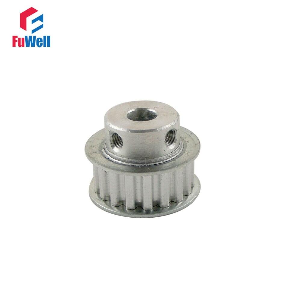 5M 35T Timing Belt Pulley Gear Wheel Sprocket 6-20mm Bore For 15//20mm Width Belt