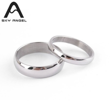 SkyAngel 1pcs Cheap stainless steel jewelry rings for girls Suppliers wholesale shop fashion jewelry China Products ring men(China)