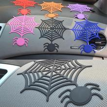 SILICONE SPIDER WEB CAR NON SLIP MAT ANTI-SKID SHEET PHONE HOLDER PAD GRIP NON-SLIP ACCESSORIES(China)