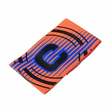 Professional Football Captain Armband Game Competition Soccer Arm Band Leader Multi Color High Quality(China)
