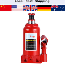 8T Portable Hydraulic Bottle Jack Automotive Life for Car Truck Caravan Tractors Vehicle Repair Tool Automotive Lifter(China)