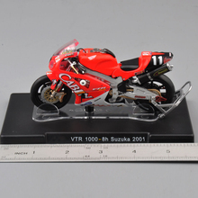 1/18 Scale VALENTINO ROSSI VTR 1000-8h Suzuka 2001 Motorcycle Bike Model Diecast Motorbike Model Kids Gift Collection