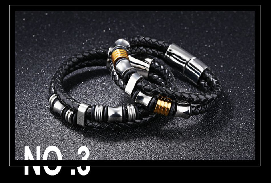 5-Leather Bracelet