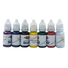 JEYL Hot Professional 7 Color Tattoo Ink Pigment Supplies Set Kit 15ml 1/2 oz ounce