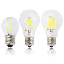 A60 G45 Vintage Dimmable LED Filament Light Bulb E27 COB Bulbs 2/4/6/8 Filaments 220V 230V Lampada 10W 15W 20W 25W