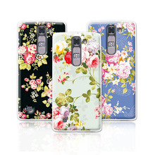 Buy 2016 Luxury Floral Painted Case LG Magna H502F H520N H500F C90 Case Art printed Flower Cell Phone Case LG G4 Mini Cover for $1.35 in AliExpress store