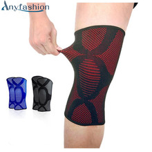 1 pairs 3 Colors Knee Support Brace Leg Arthritis Injury Gym Sleeve Elasticated Bandage Pad Elbow & Knee Pads(China)
