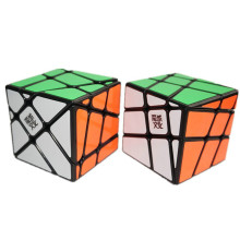 Kingcube Speedcubing Bundle Moyu Crazy Fisher Black & Moyu Crazy Windmill Magic cube Yileng & Fenghuolun Speed cube