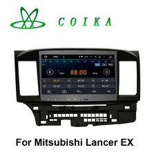 10.2 Touch Screen Android 5.1 System Auto Radio For Mitsubishi Lancer 2007-2012 WIFI 3G GPS Navi Google 3D Map Multimedia Player(China)