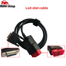 OBDII 16 pin LED main cable Suitable for vd tcs cdp pro plus OBD2 auto cable obd 16pin testing cable wow cdp multidiag pro car(China)