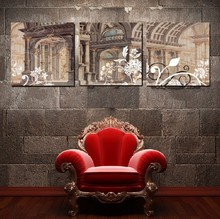 3 Panel Hot Sell Modern Wall Painting Home Decorative Art Picture Paint on Canvas Prints Historical sites(China)