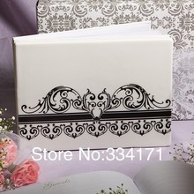 Free shipping wedding suppliers Roma Holiday Themed Gusetbook In Ceramic