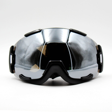 New Design Silver Lens Black Frame Brand New Ski Goggles Eyewear Mask Glasses Skiing Men Women Snow Snowboard Goggles