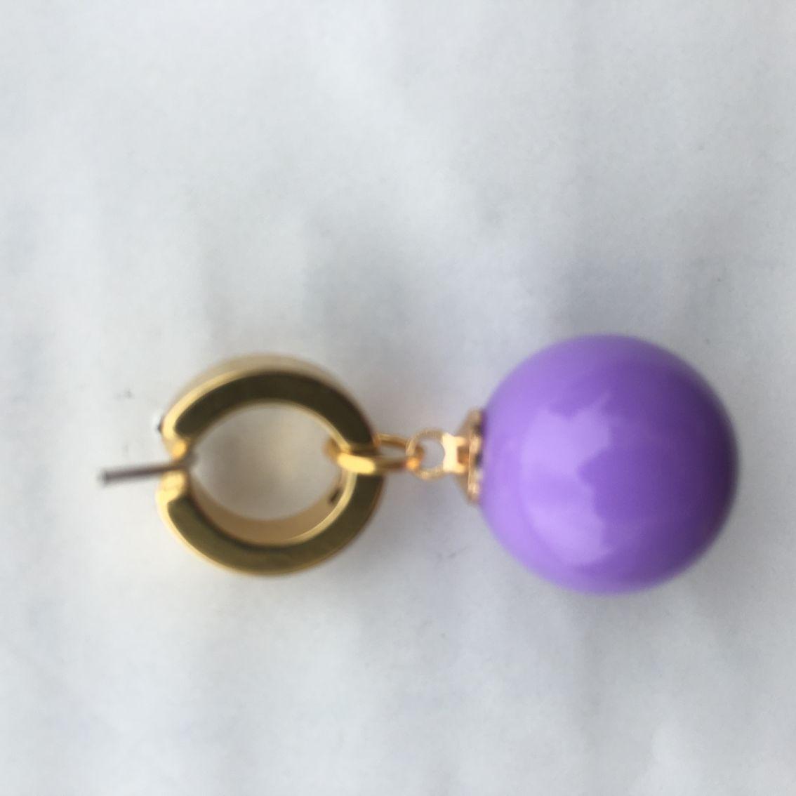 Amethyst Purple DBZ Potara Potera Earrings DragonballZ Ear rings Dragon Ball Z
