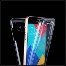 Soft Clear Cover For Samsung A310f ( A3 2016 ) Ultra Thin 2 In 1 360 Degree Smart Touch Screen Case For Galaxy A3 2016 A310f