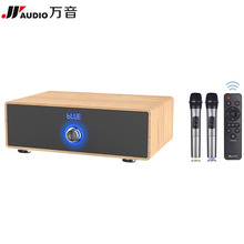 JY AUDIO 200K Bluetooth Karaoke KTV Home Theater 2.1 Ses Sistemi Sound System Wooden Soundbar Speaker for TV Computer PC Cinemas(China)