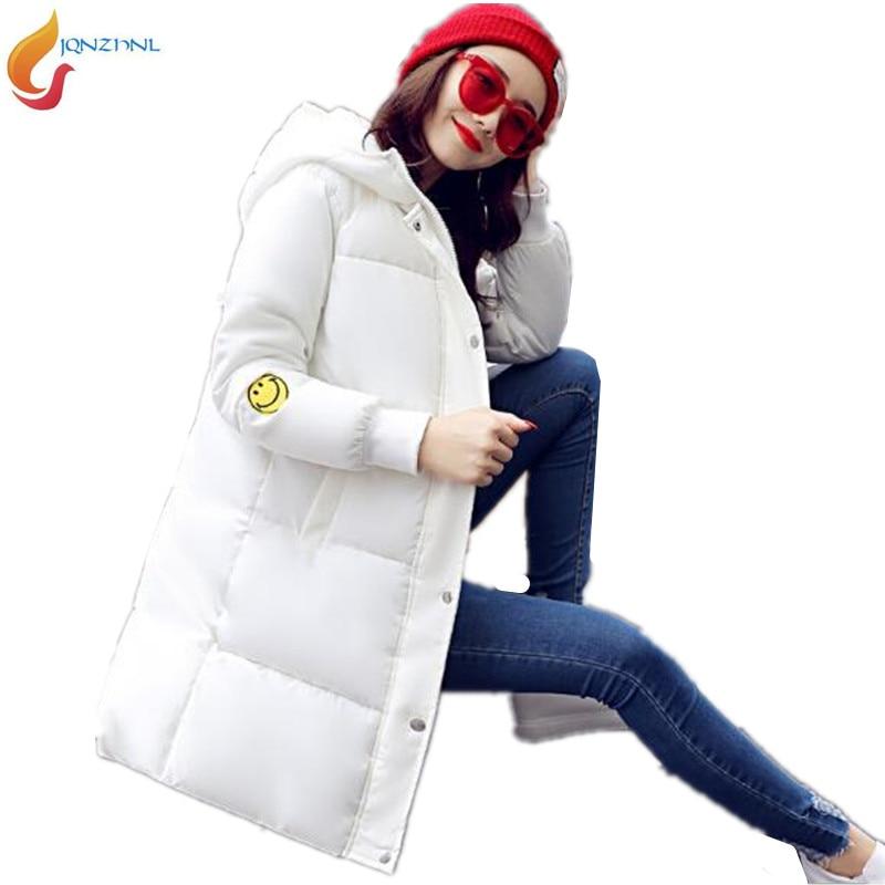 New Winter Jacket Women Thicken Hooded Warm Down Jackets Coats Parka Ladies Medium-Long Cotton Padded Plus Size Outerwears AD78Îäåæäà è àêñåññóàðû<br><br>