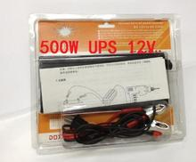 continous power 500w inverter DC 12V to AC 220V UPS with charging function