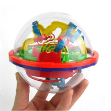 100 Levels!!! Children Puzzle Toy 3D Labyrinth Magic Rolling Ball Puzzle Cubes The Best Gift For Kids Educational Toy