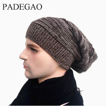 Unisex Beanie Winter Hats Cap Men Women Stocking Hat Beanies stripe Knitted Hiphop Hat male Female Warm Cap Winter