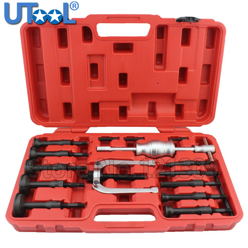16PC//Box BEARING PULLER BLIND HOLE SLIDE HAMMER PILOT INTERNAL EXTRACTOR REMOVAL