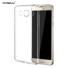 2016 For Samsung Galaxy J5 2016 Case Cover Soft Silicone Phone Case For Samsung Galaxy J5 J510 J510F Transparent TPU Soft Case