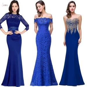 2020 Royal Blue Lace...
