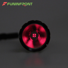 501B 3 or 4 Cores IR Red LED Flashlight Torch 18650 Powered 5W Mini Portable Waterproof Infared LED Lamp Night Vision Function(China)