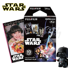 2016 Original Star Wars 10pcs Fujifilm Instax Mini 8 Film Fuji Photo Paper For Polaroid 8 50s 7s 90 25 Share SP-1 Instant Camera
