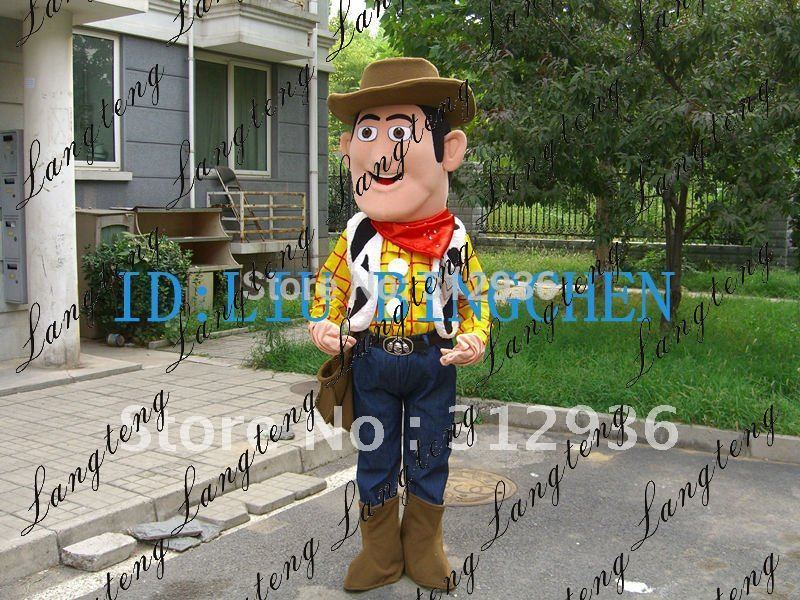 Wholesale FREE SHIPPING cowboy Plush Cartoon Char...