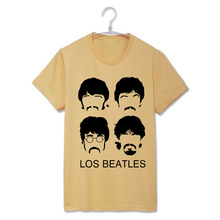 Los Beatles Real Love Rock fashion t shirt men women's top tee item NO-RSHSSDX081(China)